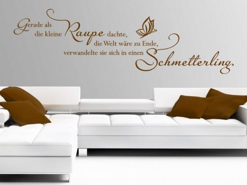 wandtattoos f rs wohnzimmer wandtattoo spr che und ideen. Black Bedroom Furniture Sets. Home Design Ideas